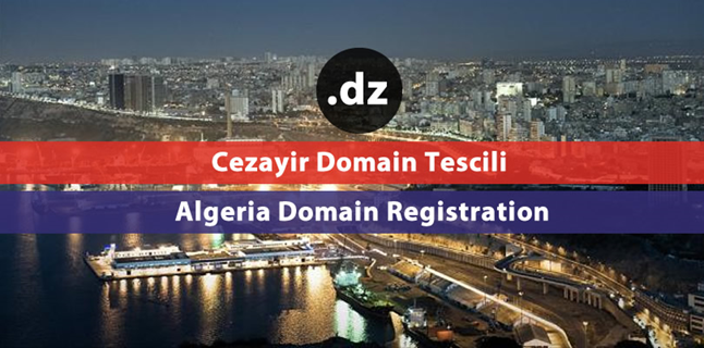 .dz Algeria domain registration