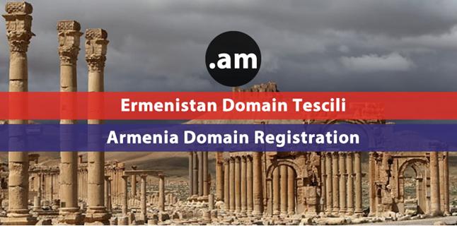 .am Armenia domain registration