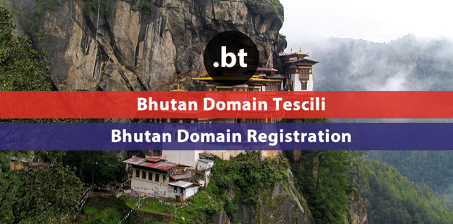 .bt Bhutan domain registration