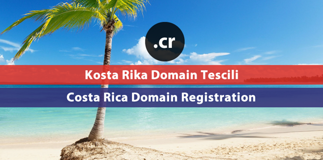 .cr Costa Rica domain registration