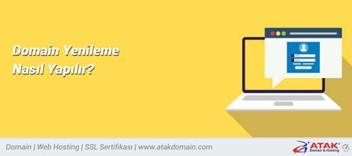 Domain Yenileme Nasıl Yapılır?