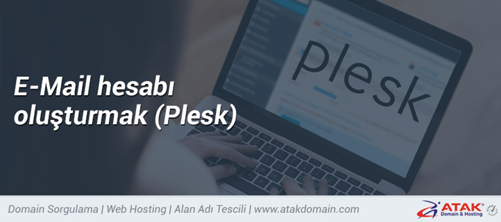 E-mail hesabı oluşturmak (Plesk)