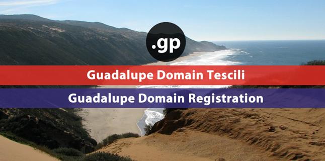 .gp    Guadalupe domain registration