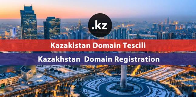 .kz Kazakhstan domain registration
