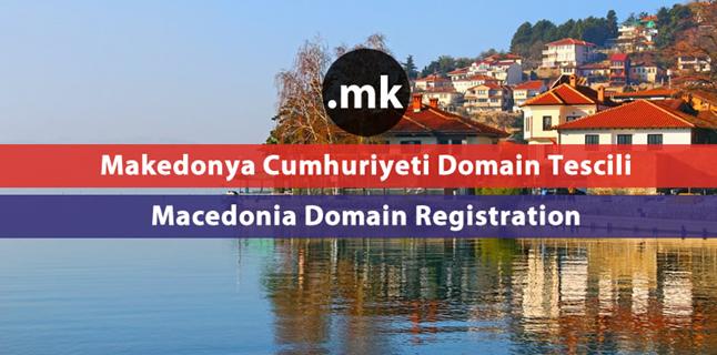 .mk  Macedonia domain registration