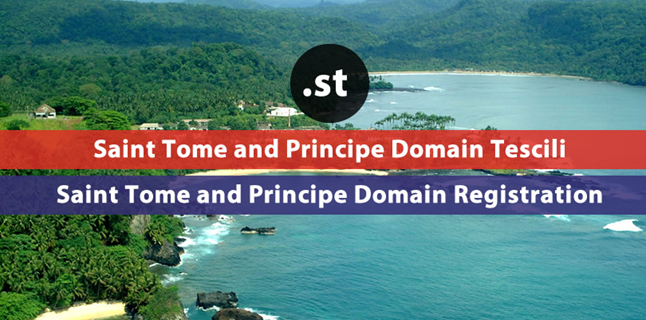 .st  Saint Tome and Principe domain registration