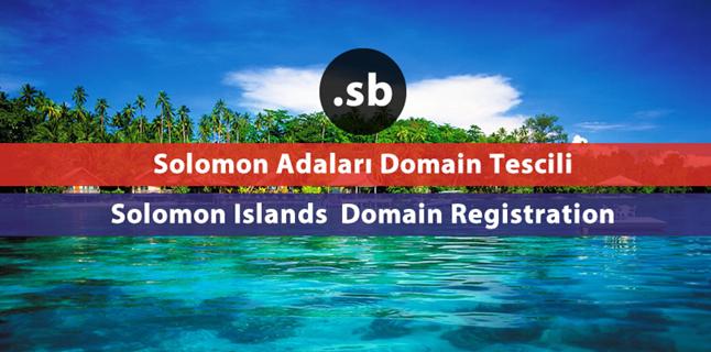.sb  Solomon Islands domain registration