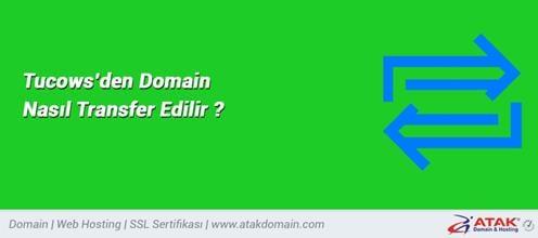 Tucows'den Domain Nasıl Transfer Edilir?