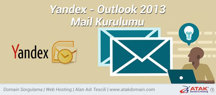 Yandex Outlook 2013 Mail Kurulumu Konu Anlatım
