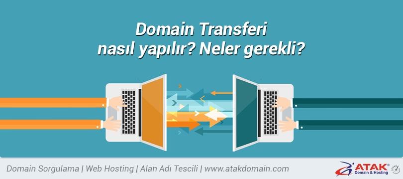 Domain Transferi nasıl yapılır? Neler gerekli?