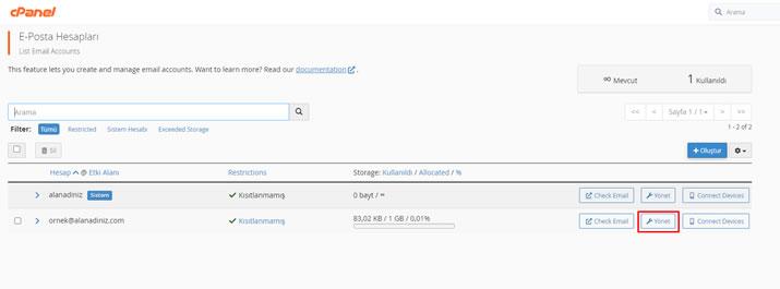 Cpanel Üzerinden Şifremi Nasıl Değiştiririm? - Atak Domain Hosting