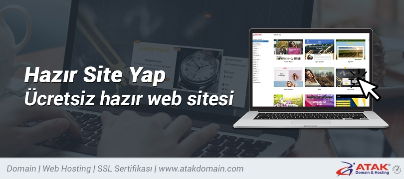 Hazır Site Yap - Ücretsiz hazır web sitesi