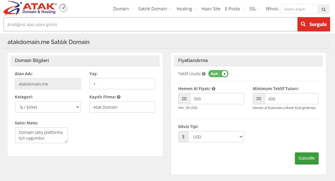 Domain Nasıl Satılır? 2. El Domain Satış Platformu