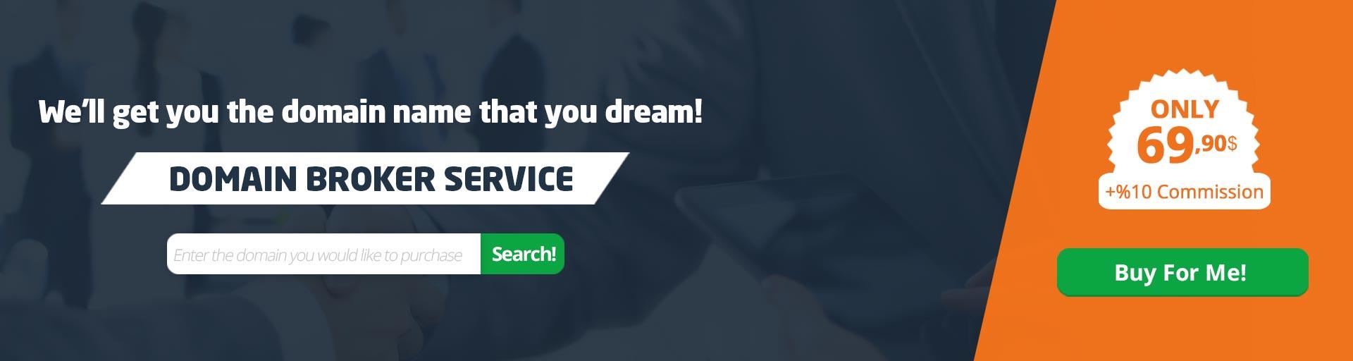 Domain Brokerage