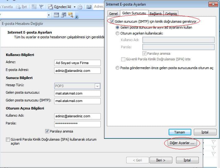 Microsoft Outlook 2003 Kurulumu